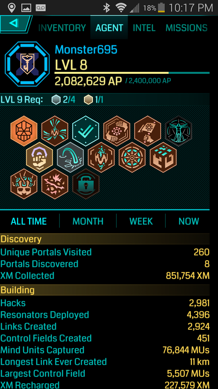 Ingress. Become a Field Agent Today.   MPG by the Collective